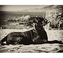 En la playa II Photographic Print