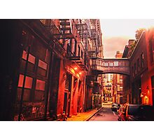 New York City Street Photographic Print
