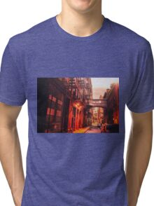 New York City Street Tri-blend T-Shirt