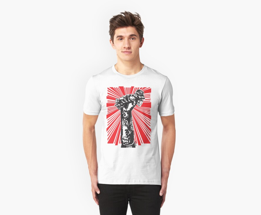 Greed Culture Tee by Muzich