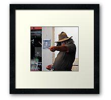 The Story Teller Framed Print