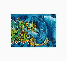 South African Rhino Graffiti Men's Baseball ¾ T-Shirt