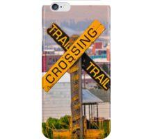 Butte Montana Trail Crossing iPhone Case/Skin