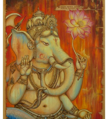 Ganesha Sticker