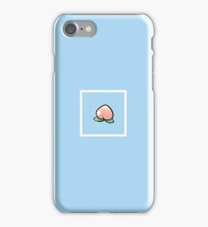 Peachy Keen - Bordered  iPhone Case/Skin