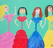 """Skinny Miss Minnies""....Anorexic Models by JoNeL-Art"