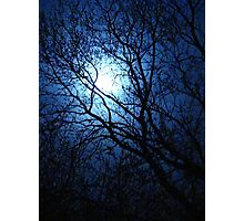 Blue Moon for Bev~ Photographic Print