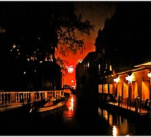 Venetian Fireworks by Mark Ross
