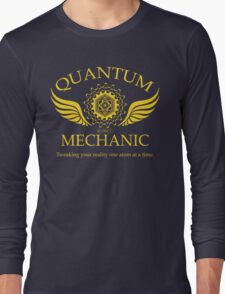 QUANTUM MECHANIC Long Sleeve T-Shirt