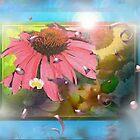 Flower shadowbox by ♥⊱ B. Randi Bailey