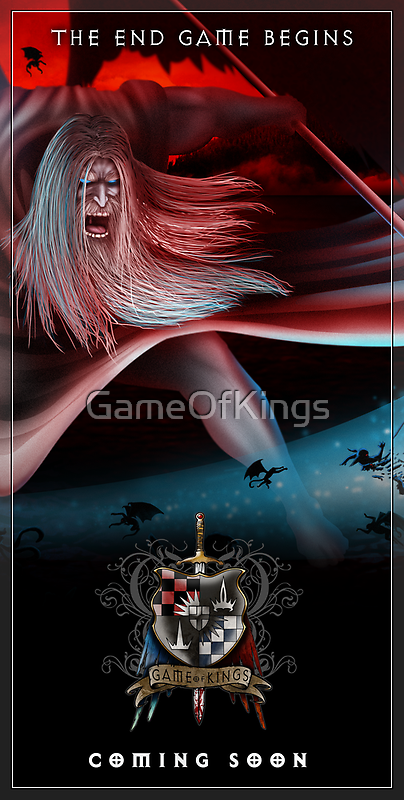 The Game of Kings - The Endgame Begins 9 May by GameOfKings