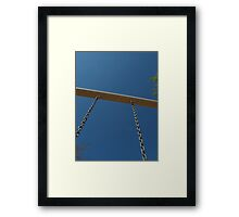 Swing as High as You Can  Framed Print