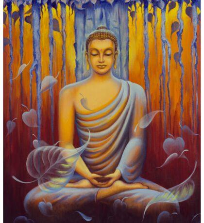 Buddha meditation Sticker