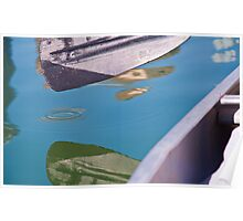 Reflecting the Canoe Run Poster