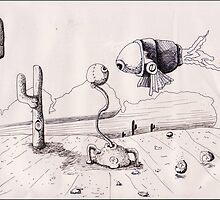 ..Surreal:Desert.. by Shane Gallagher