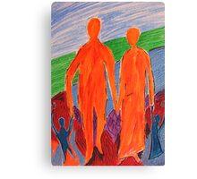 Parenting Canvas Print