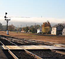 Port Jervis Train Station by Melissa Ann Blair