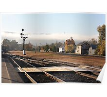 Port Jervis Train Station Poster