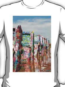 Cadillac Ranch, Amarillo, TX T-Shirt