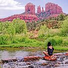 Free Soul Meditation at the Inflow Vortex - Red Rock Crossing by TonyCrehan