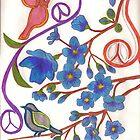 Peace Doves by kellaybaybay