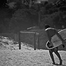 Lone Surfer by Natasha Crofts