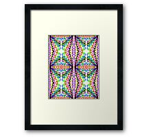 Line and Mirror Play Framed Print