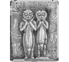 catch of the day vintage black iPad Case/Skin