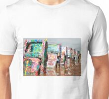 Cadillac Ranch, Amarillo, Texas Unisex T-Shirt