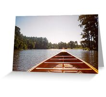 Old Town Canoe Greeting Card