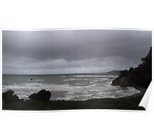 stormy weather near Penguin, Tasmania Poster