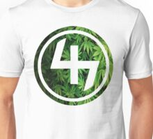 47 GREEN WEED LEAVES CIRCLE Unisex T-Shirt