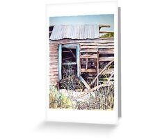 As Time Goes by in Coleraine Watercolour Painting Greeting Card