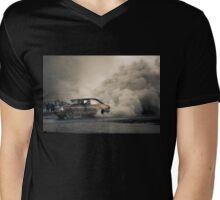 ULEGAL Epic Storm Burnout Mens V-Neck T-Shirt