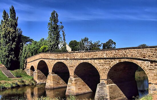 Richmond Bridge, Tasmania by Margaret Stevens