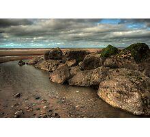 Cleveleys Rock Pool Photographic Print