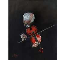 Violin Virtuoso Photographic Print