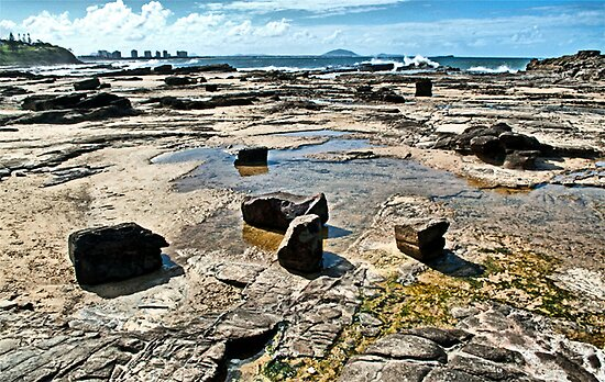 Rock Pools. by Margaret Stevens