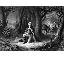 General Washington Praying At Valley Forge Photographic Print