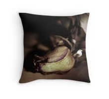 Kiss from a dying Rose Throw Pillow