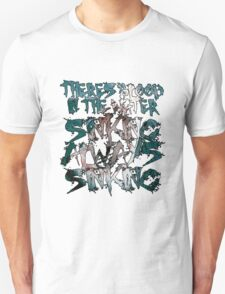 There's Blood in the Water v2 T-Shirt
