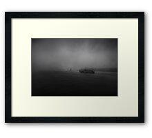 the Darkest Hour Framed Print