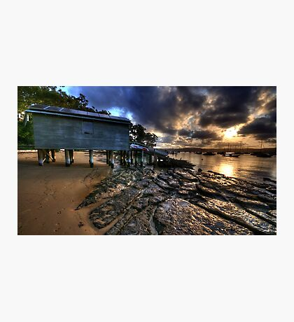 Light & Textures - Paradise Beach, Sydney - The HDR EXperience Photographic Print