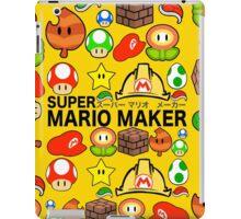Super Mario Maker iPad Case/Skin