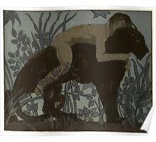 Maurice de Becque Livre de la jungle, p76 Poster
