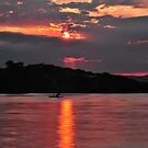 Sunset Tranquility by bazcelt