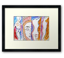 Personification of Grace. Framed Print