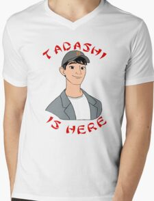 Tadashi is Here  Mens V-Neck T-Shirt