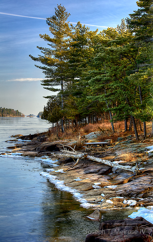 St. Lawrence River in Spring by Joseph T. Meirose IV