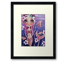 """""""The Mermaid's Garden"""" Framed Print"""
